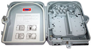 Fiber box 24xSC Simplex IP65-2