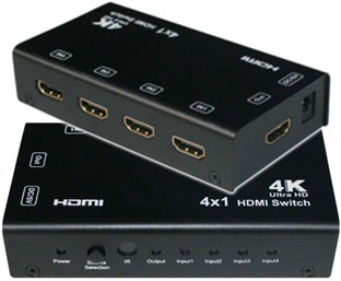HDMI Switch 4x1 SX-SW441-HD4K2K