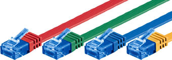 CAT6a flatkabel U-UTP-RGB